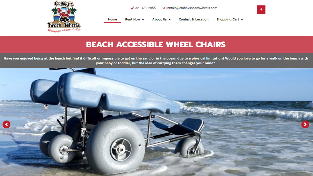 Crabby's Beach Wheels